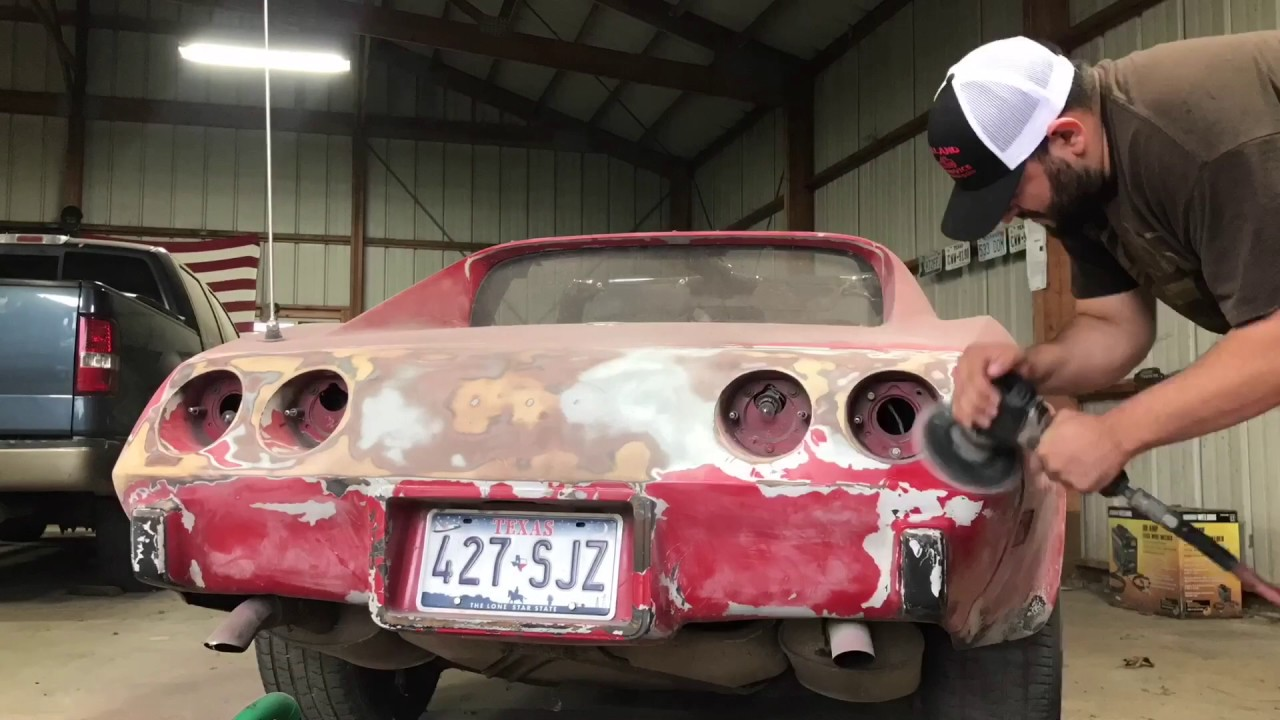 76 Corvette Restoration