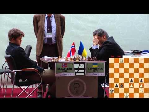 Tal Memorial, 2011. Round 5. M. Carlsen - V. Ivanchuk