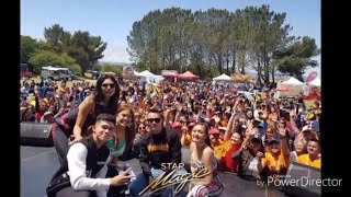 Kim Chiu, Jake Cuenca, Gretchen Fullido, and Inigo Pascual for the Tikim Food Festival in USA