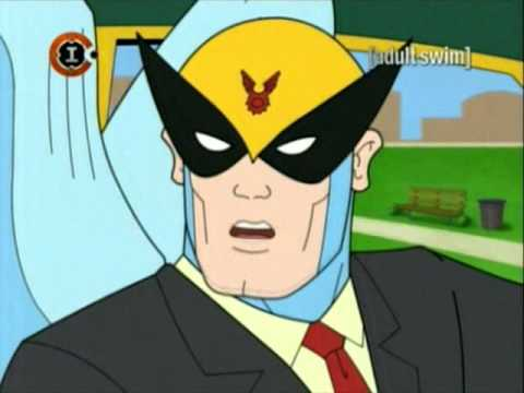 from Coleman harvey birdman bird girl nude