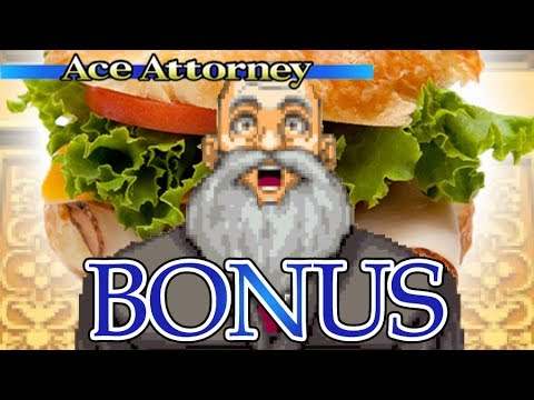 TURNABOUT TURKEY - Let's Play - Phoenix Wright: Ace Attorney - Bonus