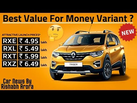 Renault Triber Best Value For Money Variant ? Real Life Mileage, Engine Power, Review in Hindi 🤔