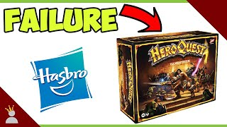 Hasbro's new Heroquest launch is a FAILURE!