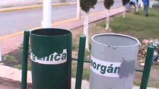 basura en parque de san pedro atzompa reporto efren