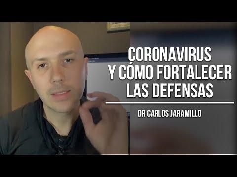 Coronavirus y cómo fortalecer las defensas - Dr Carlos Jaramillo