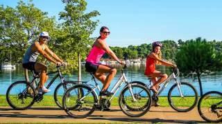 ЕЗДА НА ВЕЛОСИПЕДЕ ПОЛЬЗА И ВРЕД | как худеть на велосипеде,  полезна ли езда на велосипеде?(Как правильно кататься на велосипеде чтобы похудеть, чем полезен велосипед для девушек, как худеть на велос..., 2016-10-06T07:54:39.000Z)