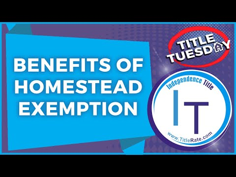 Benefits of Homestead Exemption on Florida Real Estate Investing