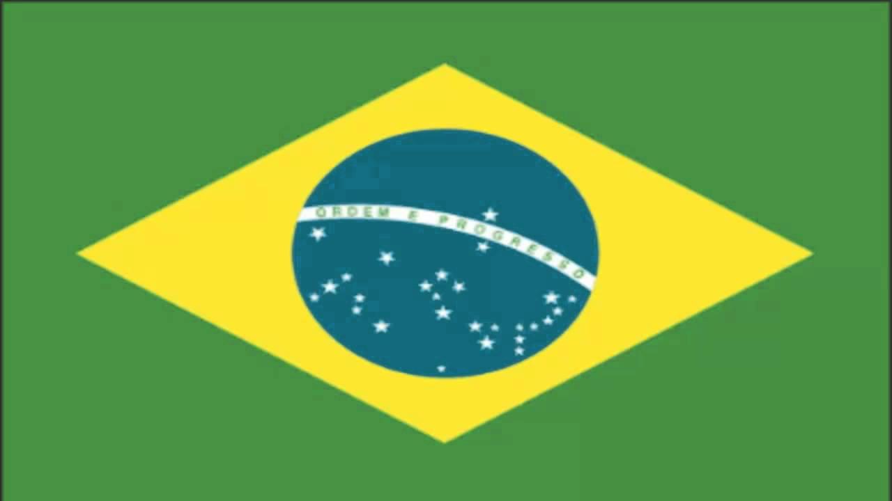 brazil flag and anthem youtube