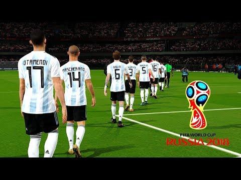 Argentina vs Croatia  Group D  FIFA World Cup Russia 21 June 2018 Gameplay