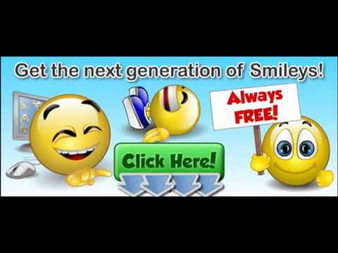 How To Download 1,000s Free Smileys For Facebook, MySpace And More...