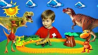 Детям про Динозавров Хищники Сборник ТИРАННОЗАВР КАРНОТАВР ЦЕРАТОЗАВР Детское Видео про Динозавров