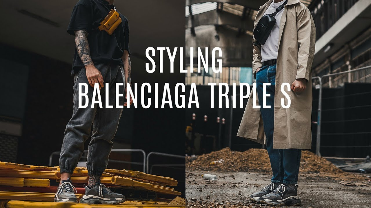 STYLING BALENCIAGA TRIPLE S | 3 Outfit