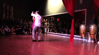 Valentine's Bachata Routine at DF Dance Studio in Utah