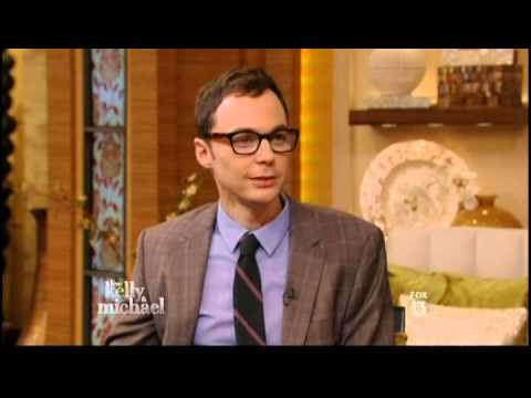 Jim Parsons on Live with Kelly and Michael - 5/1/13 - Full Interview