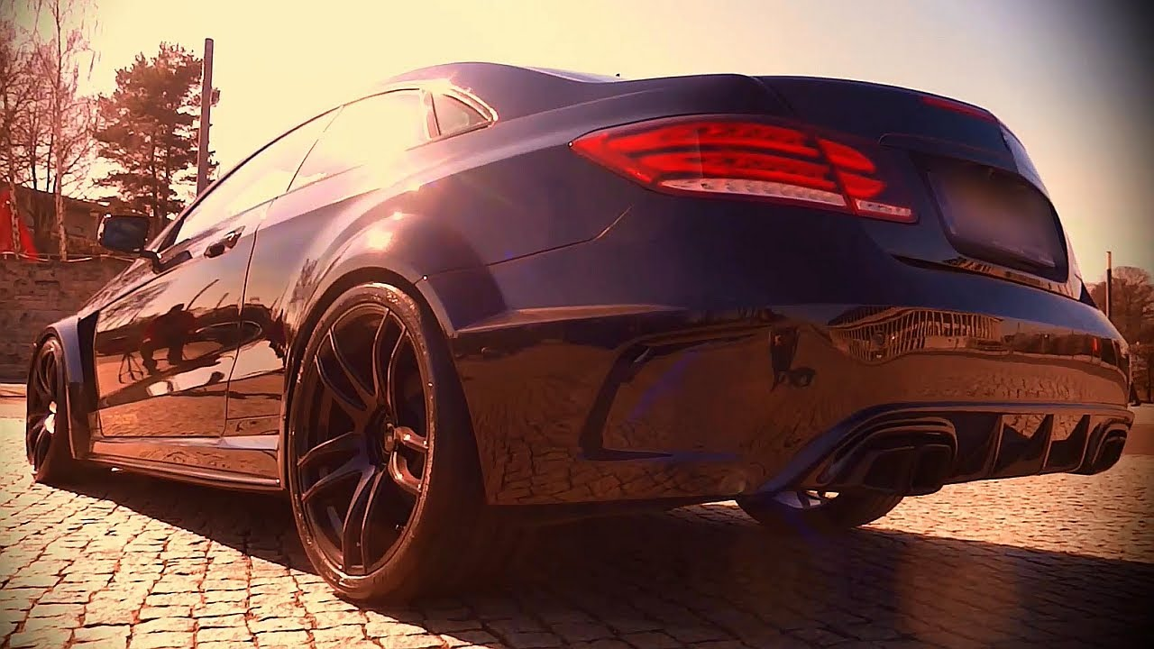 Mercedes E63 Amg E Class Coupe Special Sound Amp Tuning