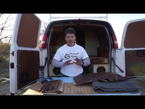 Van Life: DIY Cargo Van to Camper Van Interior - How To Insu