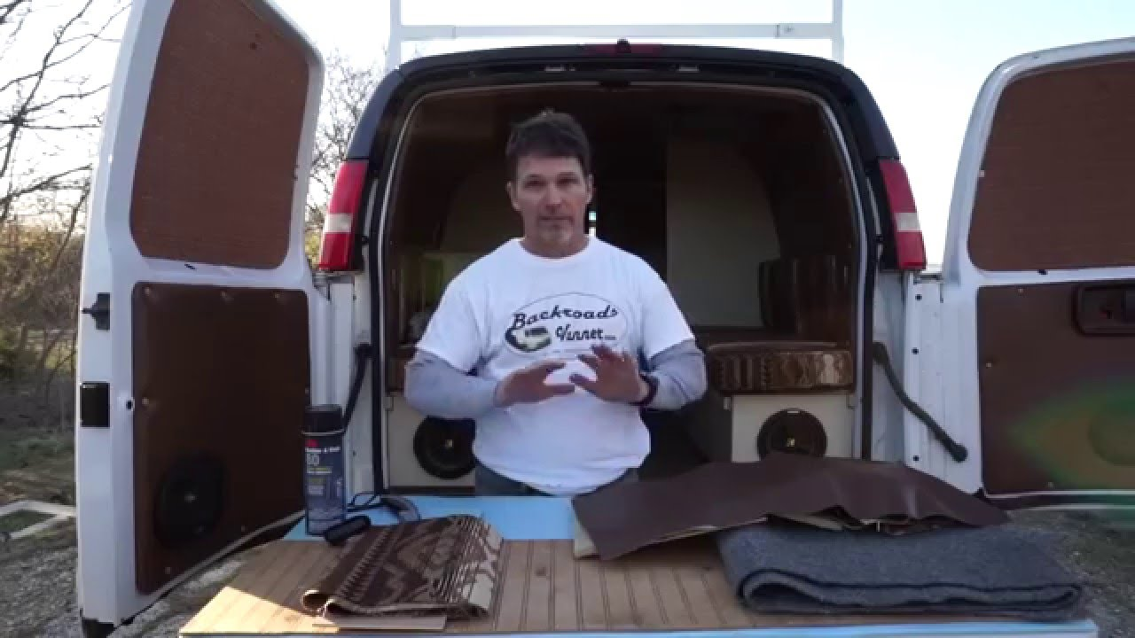 Van Life DIY Cargo To Camper Interior