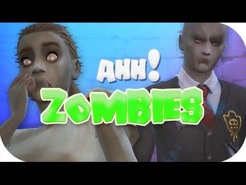 Скачать мод на симс 4 на зомби