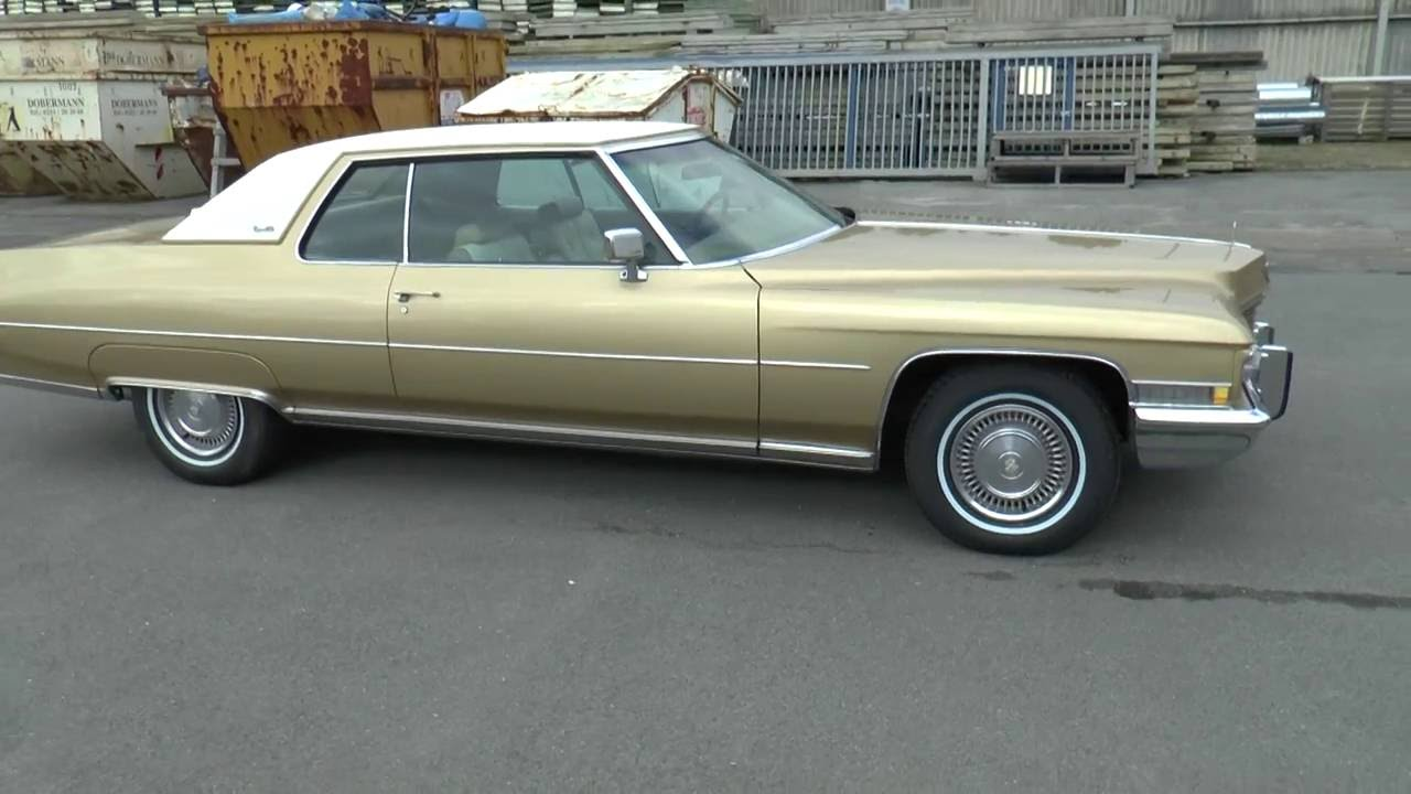 1971 Cadillac Coupe Deville - YouTube