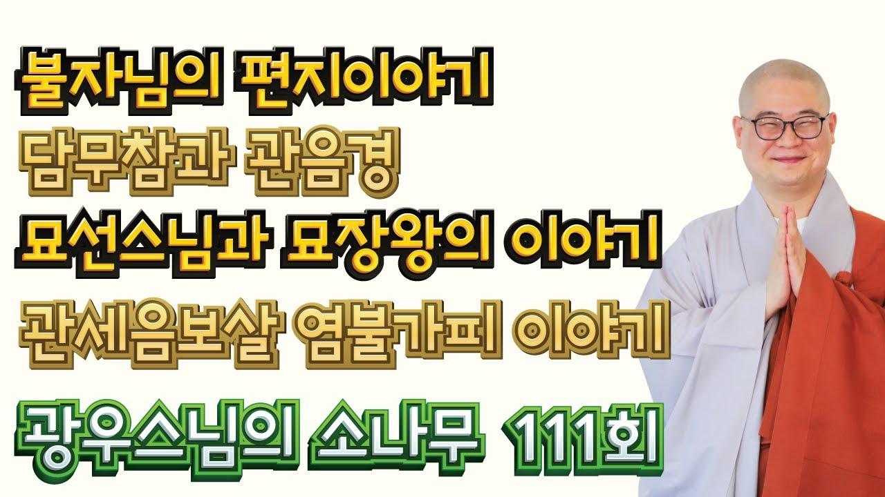 기도 가피 부처님 은혜 | 광우스님의 소나무 111회