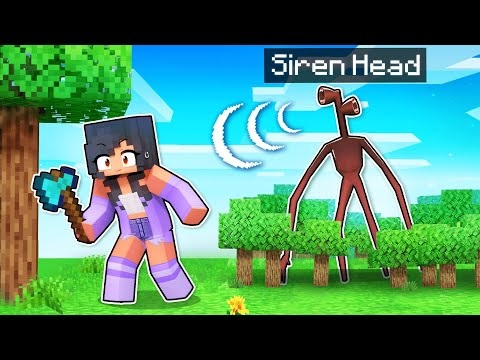 3 NIGHTS With SIREN HEAD In Minecraft!