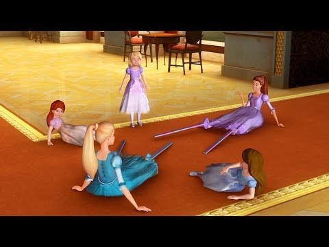 Barbie in The 12 Dancing Princesses - King Randolph's indisciplined daughters