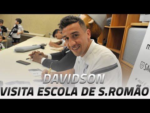 VISITA ESCOLA DE SÃO ROMÃO| Davidson quer 3 pontos frente ao Marítimo