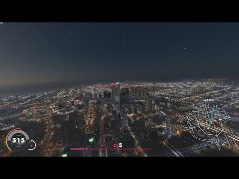 The Crew 2 - Night Flight From Las Vegas To Los Angeles