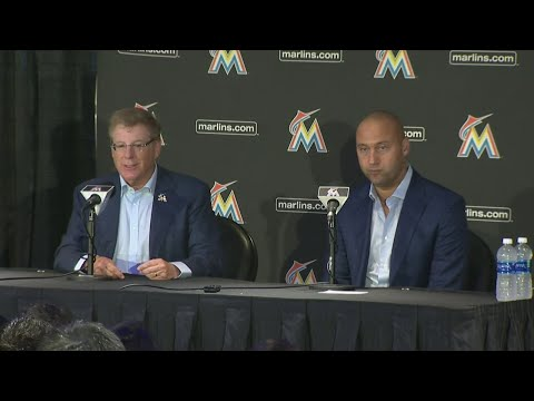 Web Video Extra: Miami Marlins Introduce Derek Jeter And Bruce Sherman As New Owners
