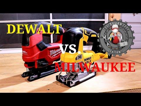 Milwaukee M18 Fuel Jig Saw VS. Dewalt 20V Max XR Jig Saw (Tool Duel) Episode 4