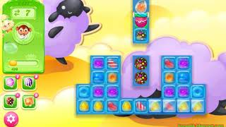 Candy Crush Jelly Saga Level 1577 (3 stars, No boosters)