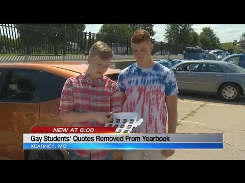 Kearney School District removes 2 gay students' quotes from yearbook