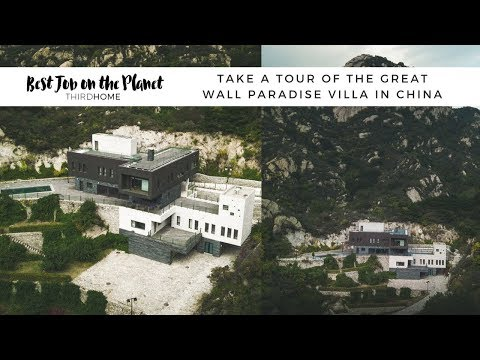 Tour of Luxury Home Next to The Great Wall of China!