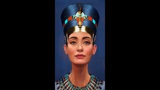 Как выглядела Нефертити Нейросеть оживила образ египетской царицы Живое фото Shorts