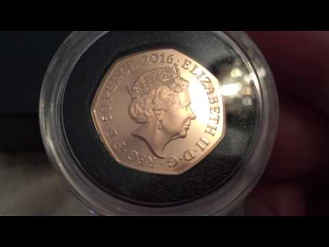 1/2 Oz Gold PROOF Royal Mint TEAM GB 50p Coin