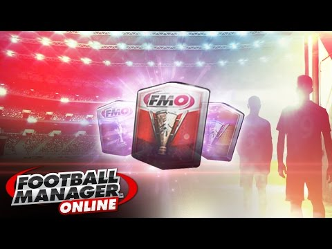 Football Manager Online Pack Opening Fmo English Gameplay