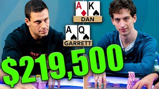 Garrett Adelstein is DOMINATED with $219,500 on the Line ♠ Live at the Bike!