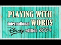 ✵°600+ SUBSCRIBERS SPECIAL ~ One word with many meanings (through Disney songs)°✵