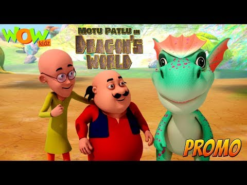 Motu Patlu in Dragon's world | Movie promo...