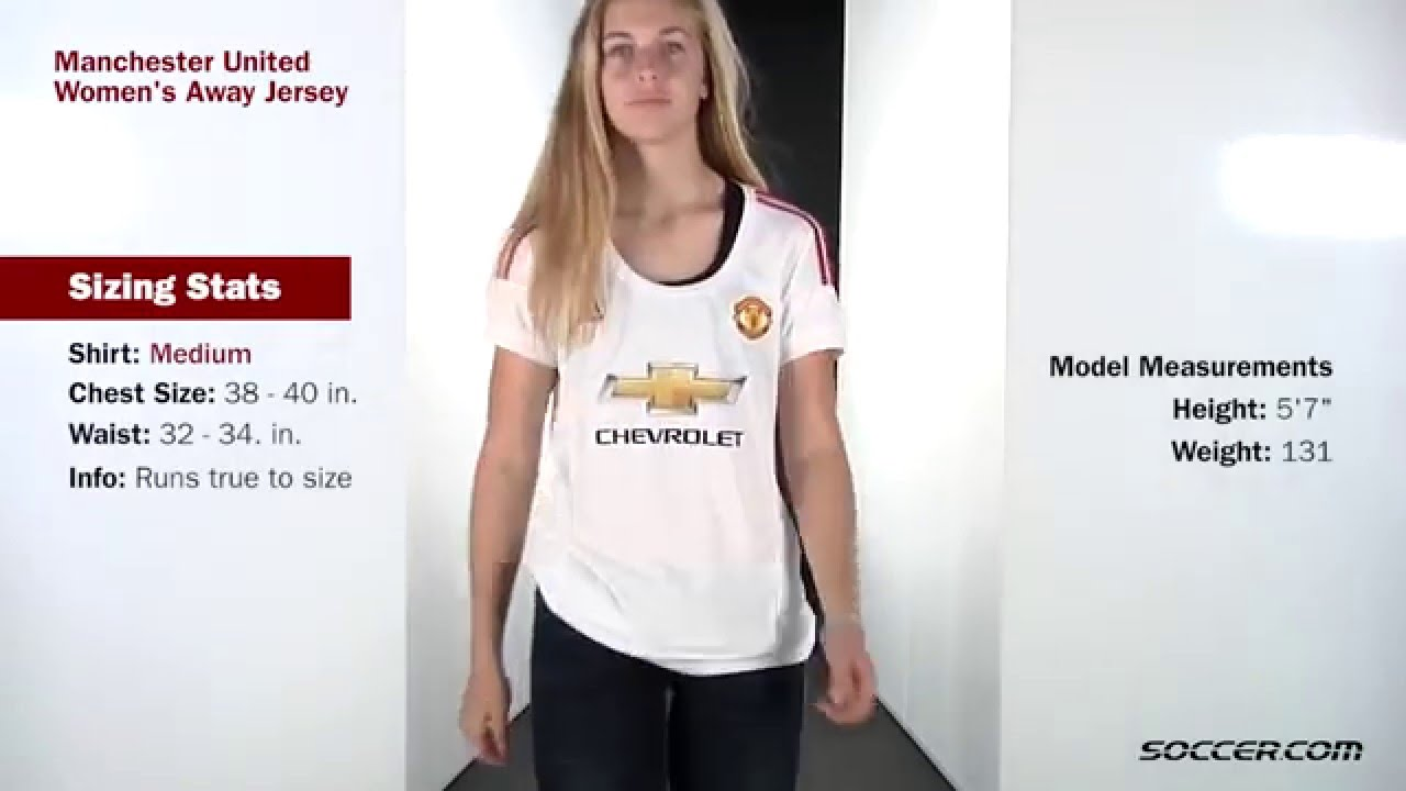 0db40a457 adidas Manchester United Women s Away Jersey - YouTube