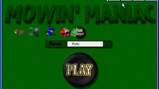 After Dark Games (1998, PC) - 09 of 10: Mowin' Maniac [720p]