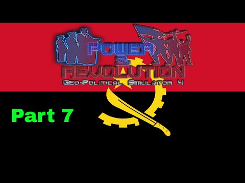 Power and Revolution (Geopolitical Simulator 4) Angola Part 7