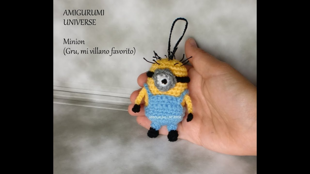 Amigurumi Minion Crochet Paso A Paso : MINION! Tutorial Amigurumi. DIY Crochet (English Pattern ...