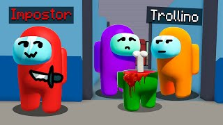 ¡Jugamos AMONG US 3D en PRIMERA PERSONA! 😱 AMONG US con ELTROLLINO, MIKECRACK y LOS COMPAS