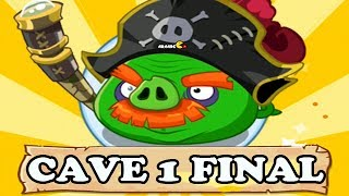 Angry Birds Epic - FINAL BOSS BATTLE CAVE 1-10 Shaking Hall 10 - Angry Birds Game