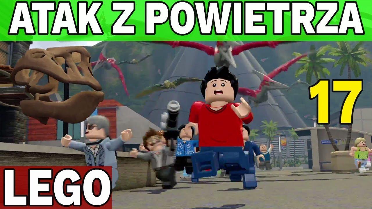LATAJĄCE ATAKUJĄ! – LEGO JURASSIC WORLD
