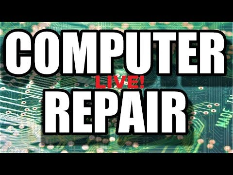 LIVE – COMPUTER REPAIR – Carpe all them Diems!