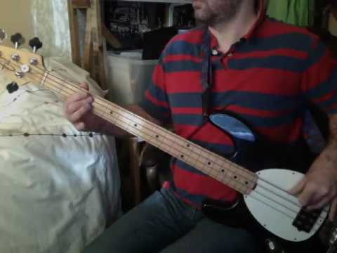 XTC bass cover - Are You Receiving Me?