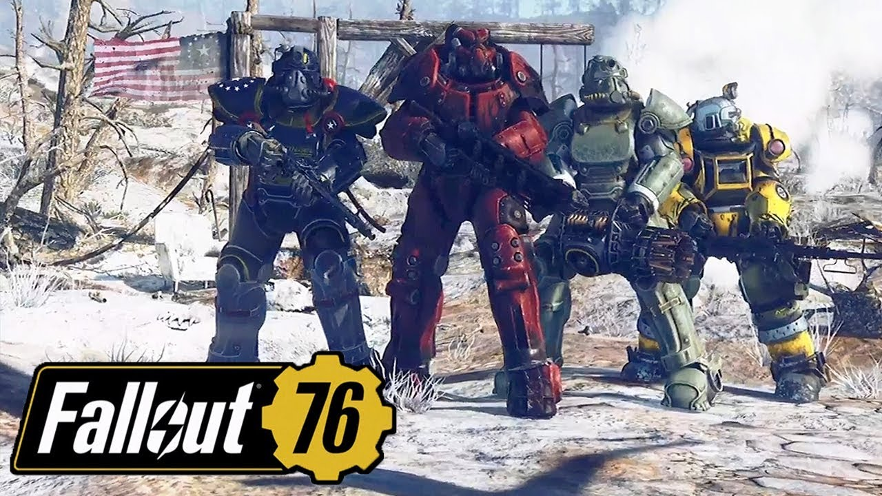 FALLOUT 76 FULL GAMEPLAY REVEAL Online Base Building