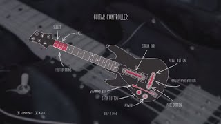 Guitar Hero Live Controller Button Mapping